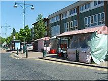 SJ9400 : Wednesfield Market by Gordon Griffiths