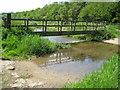 TQ0187 : River Misbourne near Higher Denham by Nigel Cox