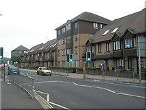SZ6599 : Rowan Court in Goldsmith Avenue by Basher Eyre