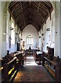 TG0602 : St Andrew & All Saints, Wicklewood, Norfolk - West end by John Salmon