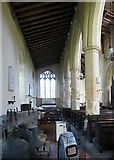 TG0400 : St Andrew's Church, Deopham, Norfolk - North aisle by John Salmon