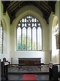 TG0400 : St Andrew's Church, Deopham, Norfolk - Sanctuary by John Salmon