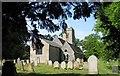 TG1208 : St Mary's Church, Marlingford, Norfolk by John Salmon