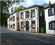 SE0125 : Shoulder of Mutton - New Road, Mytholmroyd by Betty Longbottom