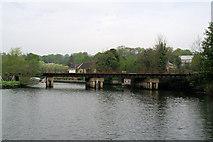 TG2608 : Railway bridge, Thorpe St Andrew by Pierre Terre