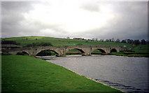 SE0361 : Burnsall Bridge by Dr Neil Clifton