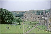 SM7525 : St David's Cathedral with Gravestones, Pembrokeshire taken 1968 by William Matthews
