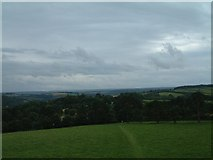 SX4268 : View from Cotehele prospect tower by Simon Huguet