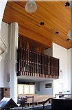 TM1579 : St Andrew's Church, Scole, Norfolk - Organ by John Salmon