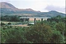 NN3825 : Glenbruar Viaduct, Crianlarich 1979 by Peter Whatley