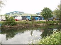 TQ1579 : River Brent Business Park by David Hawgood