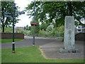 SD5192 : James Cropper monument & signpost by Nicholas Mutton