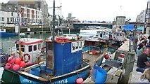 SY6778 : Weymouth Harbour, Town Bridge by Nigel Mykura