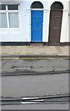 SY6878 : Weymouth Boat Train Railway Tracks by Nigel Mykura