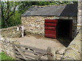 NZ0762 : The donkeys' stable at Cherryburn by Mike Quinn