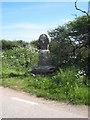 SW4224 : Boskenna Cross by Rod Allday