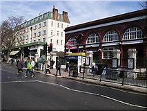 TQ2785 : Belsize Park Underground Station by Shaun Ferguson