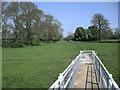 SP4876 : Footbridge over the River Avon by Ian Rob