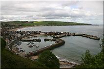 NO8785 : Stonehaven Harbour by Shaun Ferguson