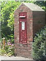 SZ2093 : Highcliffe: postbox № BH23 34, Nea Road by Chris Downer