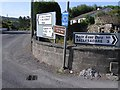 G6931 : Direction signs (A definition of Irish Townlands) by Kenneth  Allen