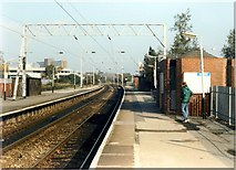SJ8195 : Warwick Road station by Peter Whatley