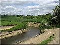 SO2399 : River Camlad Downstream by Chris Heaton