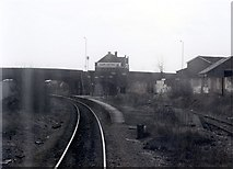 SJ8993 : Reddish South station by Peter Whatley