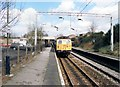 SJ8485 : Heald Green station by Peter Whatley