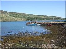 NM4099 : Pier, Loch Scresort, Rum by Rob Farrow