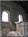 TG1027 : Disused Primitive Methodist Chapel - view inside by Evelyn Simak