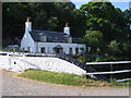 NR7993 : Cottage at Crinan Bridge by E Gammie