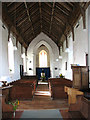 TF9932 : St Mary's church - C15 roof by Evelyn Simak