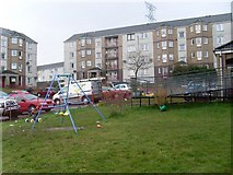 NS5073 : Small playpark in Faifley by Stephen Sweeney