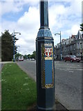 NJ9304 : Lamp-posts along the B9077 by Stanley Howe