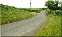 J2654 : The Tullynore Road near Dromore by Albert Bridge
