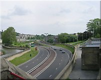 SE1039 : Bingley By-pass from Park Road by Betty Longbottom