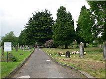 ST2896 : Churchyard - Holy Trinity Church Cwmbran by Eirian Evans