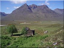 NH0681 : Bothy, Mountain, Rowan by Adam Ward