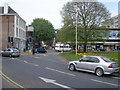 SO8554 : Lychgate roundabout by Trevor Rickard