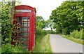 J6248 : Rural phone box near Portaferry by Albert Bridge