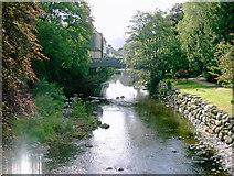 NY2623 : River Greta at Keswick by Slbs