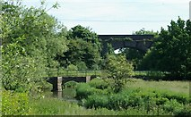 SP2180 : Bridges over the river by Keith Williams