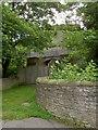 SK5992 : Tickhill castle gate by Steve  Fareham
