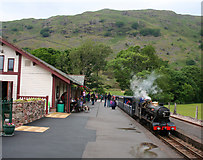 NY1700 : Rainy afternoon at Dalegarth station by Espresso Addict
