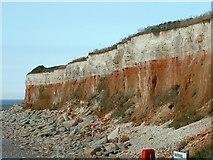 TF6741 : Hunstanton cliffs by Keith Evans