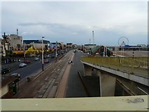 SD3035 : Blackpool Promenade looking South by Gerald England