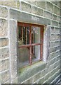 SE0023 : Dairy window, Cragg Vale, Mytholmroyd by Humphrey Bolton