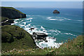 SX0586 : Tintagel: near Trebarwith Strand by Martin Bodman