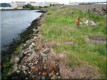 J3576 : Recently reclaimed land, Belfast docks by Rossographer